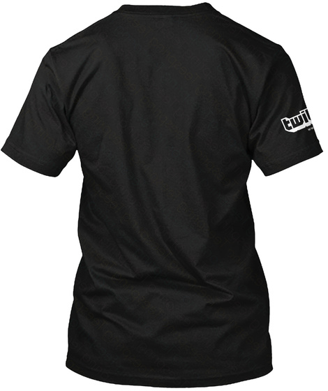 Zwetschke Shirt Black T-Shirt Back