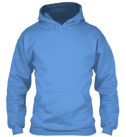 Aquarius Hoodie Carolina Blue T-Shirt Front