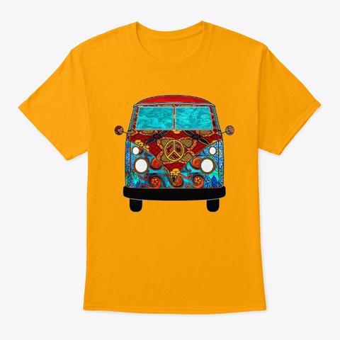 Red Tropic Van Gold T-Shirt Front