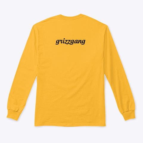 Yuh. Gold T-Shirt Back