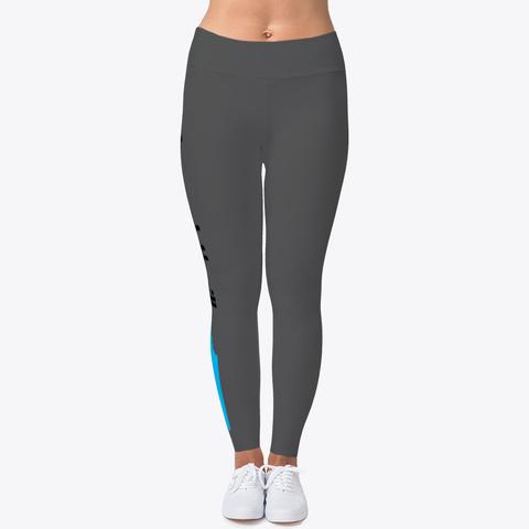 Chapel Hill Thrill Yoga Pants Charcoal T-Shirt Front