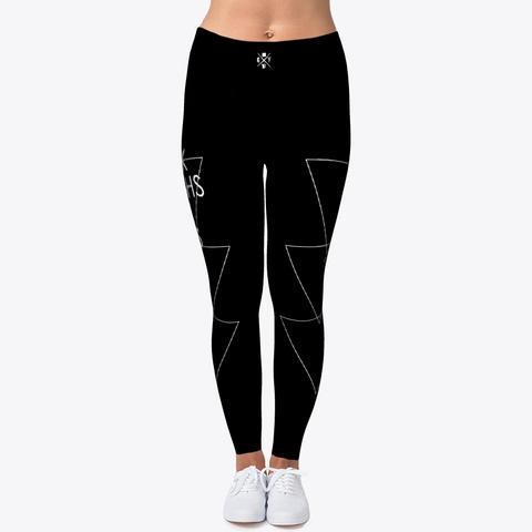 Jiu Jitsu Thick Thighs Triangles   Spats Black T-Shirt Front