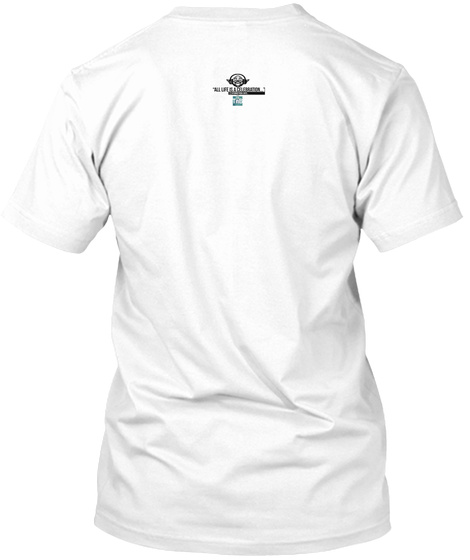 """Celebration"" Series... #Getactive White T-Shirt Back"