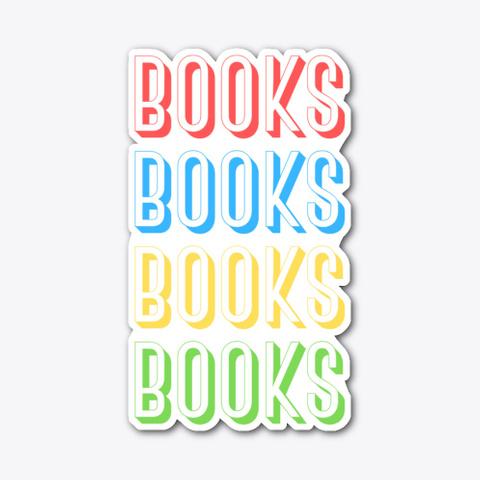 Books Books Books Books Standard T-Shirt Front