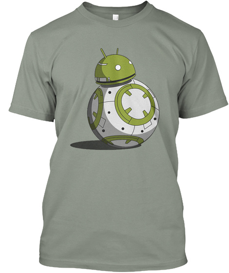 Advanced Technology Tee Grey T-Shirt Front