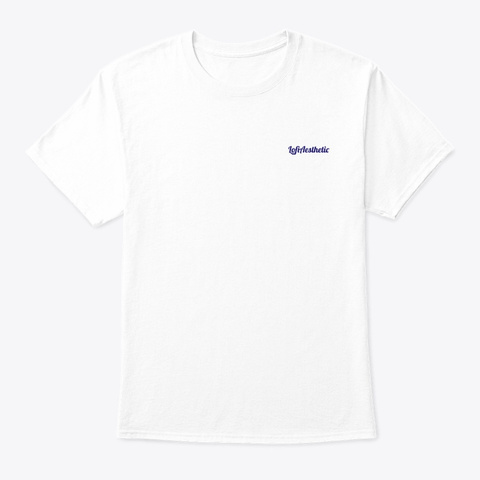 Eat Sleep Chill Repeat: Palm Light White T-Shirt Front