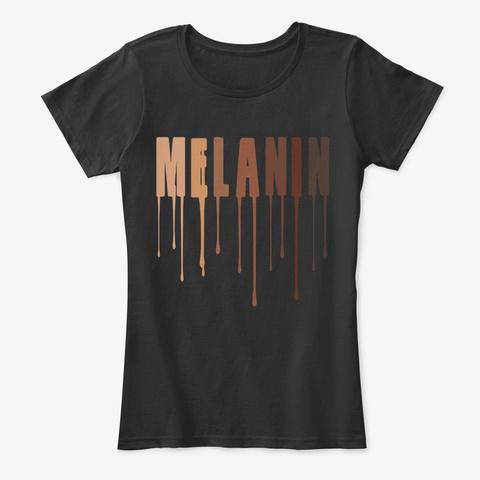 Drippin Melanin Shirt Black History Black T-Shirt Front