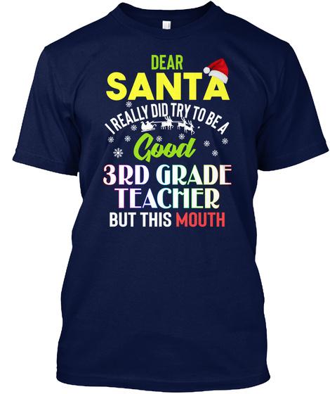 Good 3rd Grade Teacher X-mas Unisex Tshirt