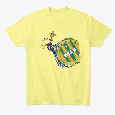 Kabylie T Shirt Lemon Yellow  T-Shirt Front