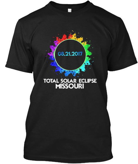 e78e3d8ec Colorful Total Eclipse Missouri Products from Solar Eclipse T-Shirt ...