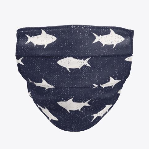 Cute Sea Life Illustration Mask Standard T-Shirt Front