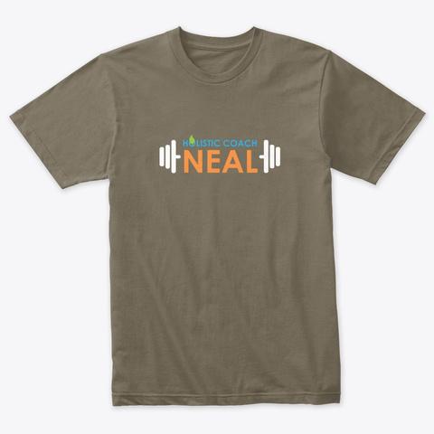 Holistic Coach Neal Venetian Gray T-Shirt Front