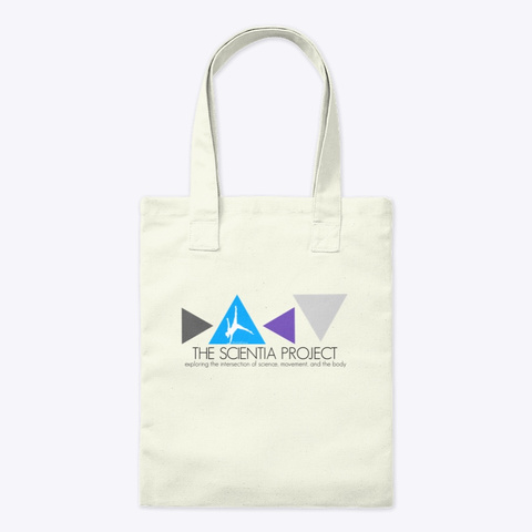 The Scientia Project Merchandise Natural T-Shirt Front
