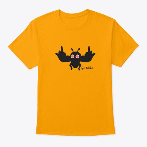 Mothman   Alternative Design Gold T-Shirt Front