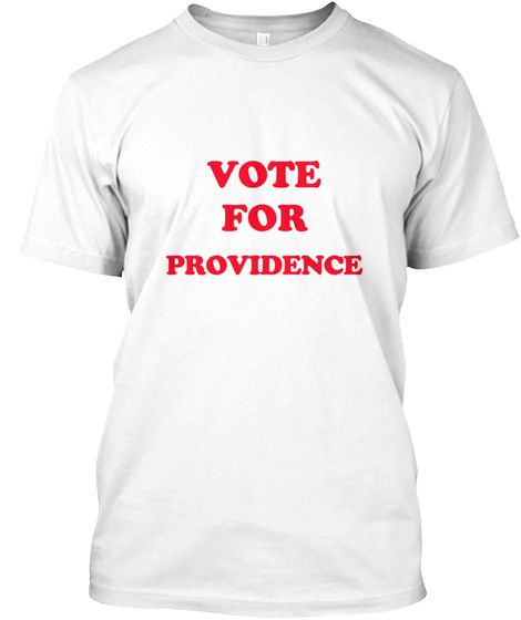 Vote For Jimmy Mens White T-Shirt Front
