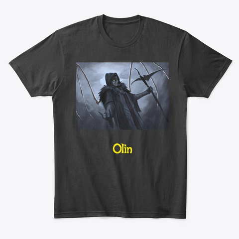 Dn Dw Hss   Olin Black T-Shirt Front