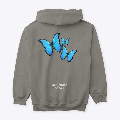 Bia.Tterflies Charcoal Camiseta Back
