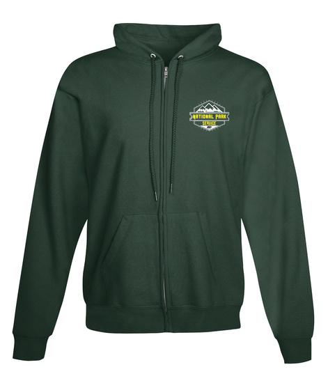 National Park Service Deep Forest  Sweatshirt Front