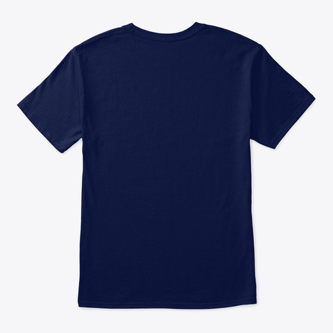 Show Your Love For Litecoin! Many Colors Navy T-Shirt Back