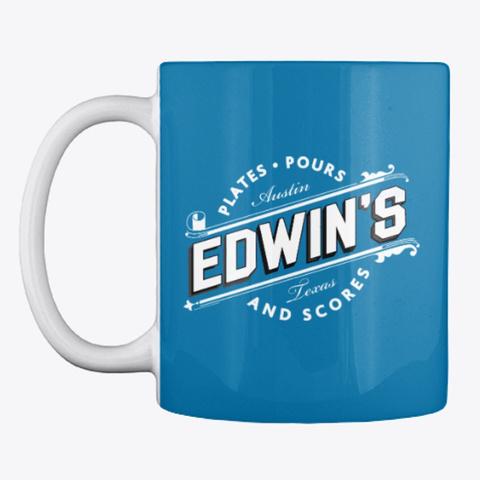 Edwin's Og Mug Royal Blue Kaos Front