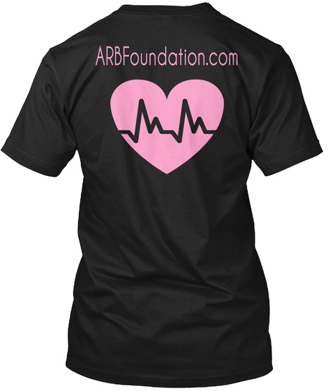 Arb Foundation.Com Black T-Shirt Back