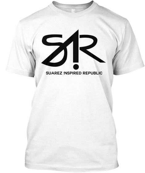 Sir Suarez Inspired Republic White T-Shirt Front