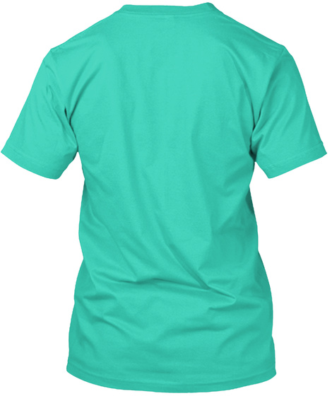 Nerve's Ending Mint T-Shirt Back