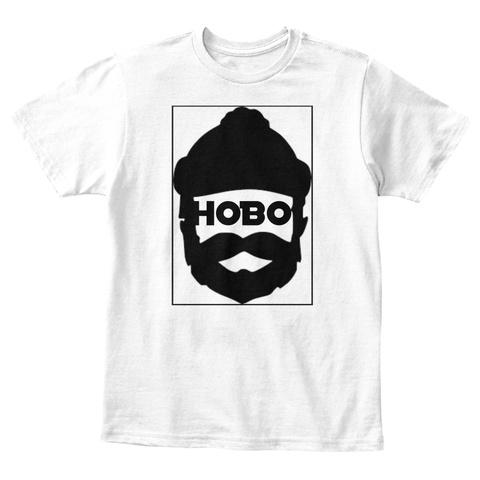 Hobo White T-Shirt Front