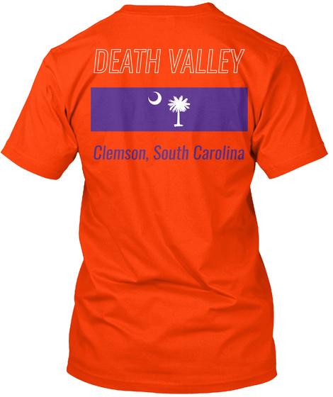 Beat The Seminoles   Death Valley Shirt Orange T-Shirt Back