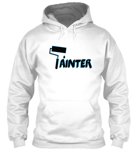 Ainter White Sweatshirt Front