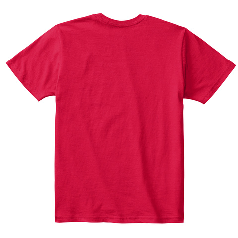 Iosf's Team Otter Kids T Shirts Red T-Shirt Back