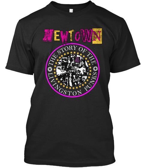 Newtown:  Livi Punks T Shirt Black T-Shirt Front