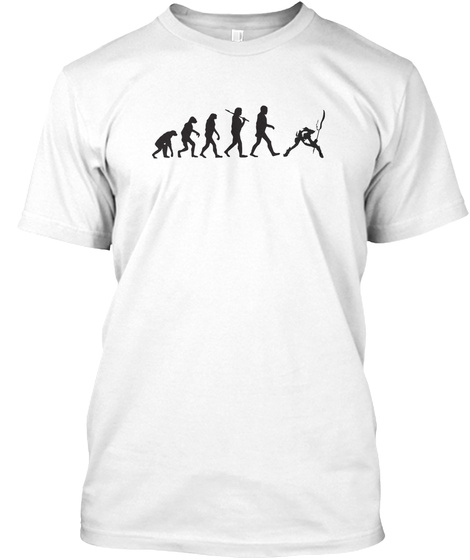 Limited Edition   Punk Evolution White T-Shirt Front