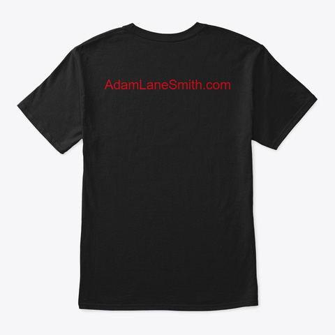 Dvw Logo Black T-Shirt Back