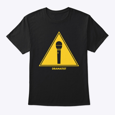 Singers: Dramatists Black T-Shirt Front