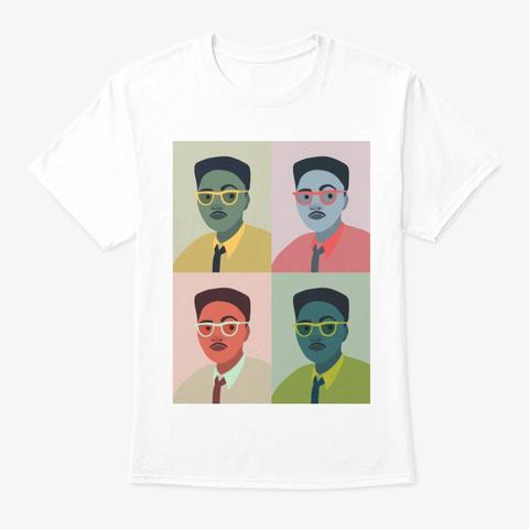 Bayard Rustin (1912 1987) (Portrait) White T-Shirt Front