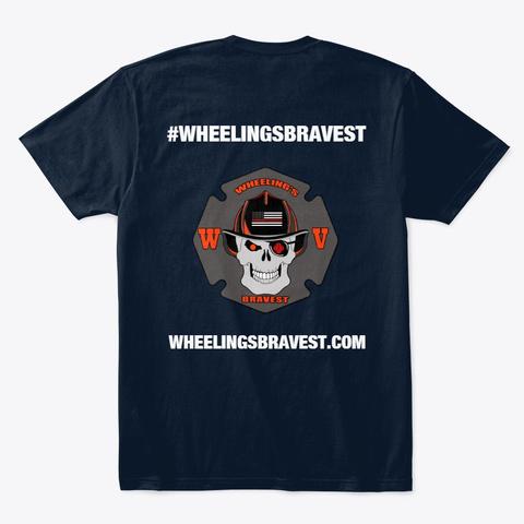 Wheelingsbravest Merchandise New Navy T-Shirt Back