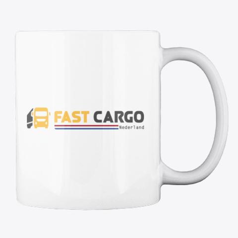 Fast Cargo Nld   Mug [White] White T-Shirt Back
