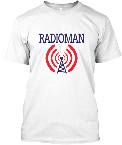 Rm Radioman Language Lingo  Military White T-Shirt Front