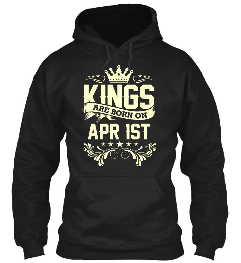 King Born On April 1st Birthday shirt Unisex Tshirt