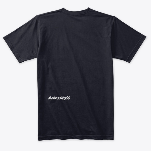 Aphrodity66 Vintage Navy T-Shirt Back