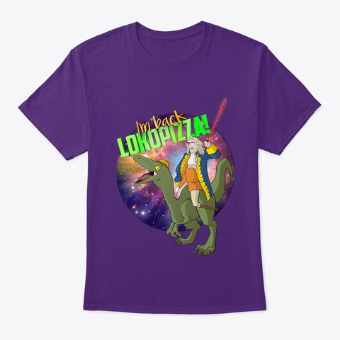 ⚔⛔Blas De Lezo (Univers)  Calidad Baja ⛔ Purple T-Shirt Front