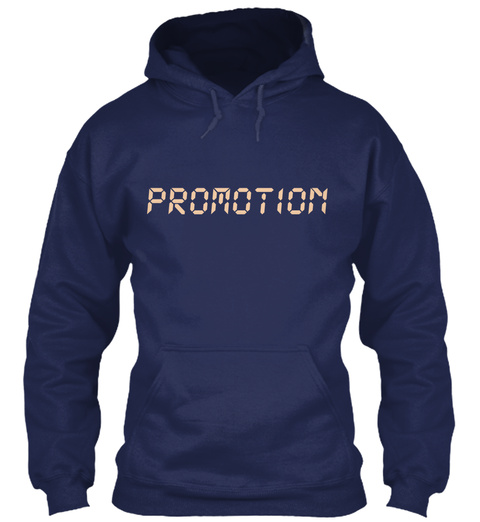 Promotion Navy T-Shirt Front