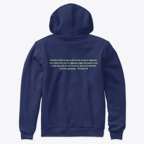 Bound And Determined  Navy Sweatshirt Back