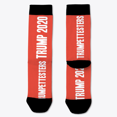 Trump 2020 Socks Red T-Shirt Front