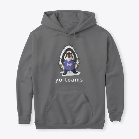 Pn P   Parker The Porcupine   Yo Teams Dark Heather T-Shirt Front