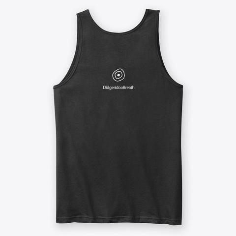 Didgeridoo Breath Logo Black T-Shirt Back