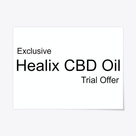 Healix Cbd Oil   Where To Buy? Standard T-Shirt Front