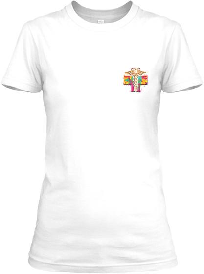 Awesome Rad Tech Shirt White T-Shirt Front