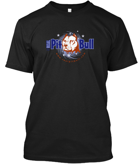 Buy A Shirt, Help A Pit Bull Black T-Shirt Front
